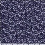 Michael Miller Bandana Ditzy Navy