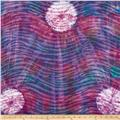 Indian Batik Tie Dye Skin Purple/Multi