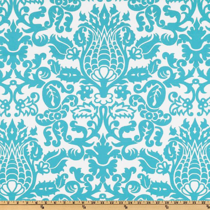 Premier Prints Amsterdam True Turquoise