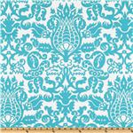 UI-374 Premier Prints Amsterdam True Turquoise