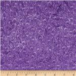 Bali Batiks Mini Feathers Purple
