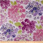 0276393 P Kaufmann Flower Bed Twill Raspberry