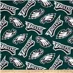 CK-153 NFL Fleece Philadelphia Eagles Green/White