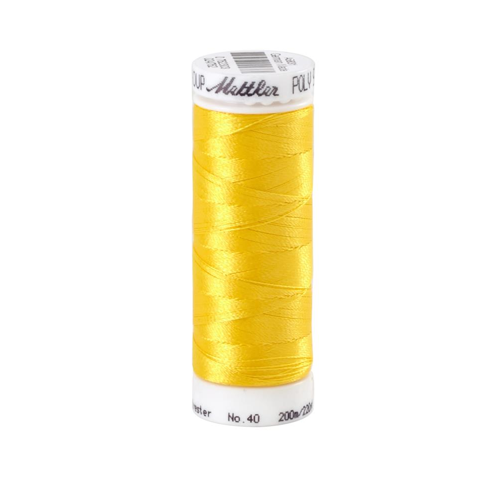 Mettler Polysheen Thread Yellow