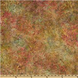Artisan Batik Grove Foliage Harvest Brown