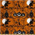 Happy Halloween Scenic Halloween Orange