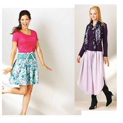Kwik Sew Pretty Pleated Skirts (3914) Pattern