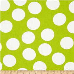 Moda Half Moon Modern Big Dot Lime