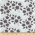 Riley Blake Mystique Flower Grey