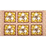 FO-917 Star Flakes & Glitter Polar Bear Express Panel Gold