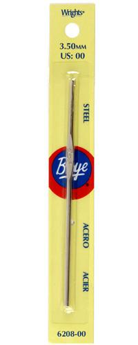 Boye Steel Crochet Hook 5'' Size 00