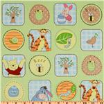 FD-232 Pooh Nature Friends Green