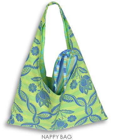 Amy Butler Patterns Nappy Bag