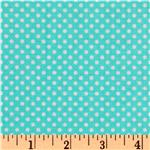 Timeless Treasures Tutti Frutti Dot Aqua