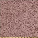 Sweet Home Floral Tonal Plum