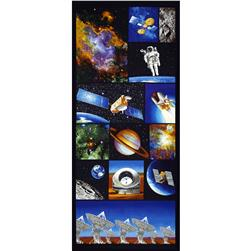 "I Want My Space 57"" Wide Space Exploration Panel Multi"