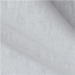 Kaufman Essex Linen Blend White