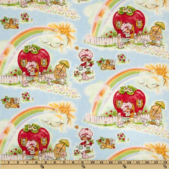 Strawberry Shortcake Classic Rainbow Light Blue
