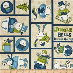 Jingle Bell Snowmen Sampler Multi