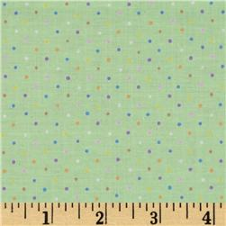 Brights & Pastels Basics Pindot Light Green