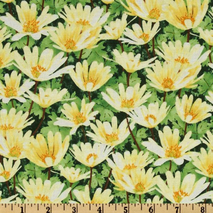 Garden Magic Medium Floral Yellow