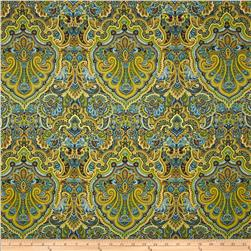 Autumn Festival Damask Teal