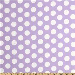 Curiosities Flannel Cookie Dots Lilac