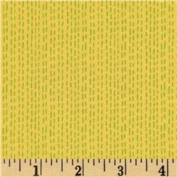 Dear Stella Savannah Ticking Stripe Citron