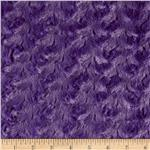 0284011 Minky Cuddle Rosebud Purple