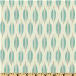 UQ-523 Braemore Spice Market Ikat Aquamarine