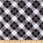 0269695 Great Scotts Flannel Mad for Plaid Black/Grey