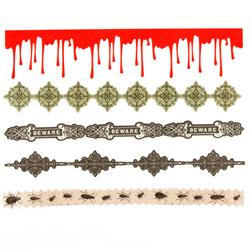 Martha Stewart Crafts Stickers Vampire Diecut Borders