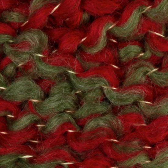Lion Brand Holiday Homespun Yarn (203) Mistletoe