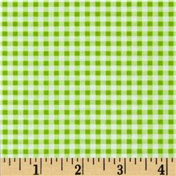Wishing Well Gingham Green