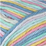 Peaches & Creme Ombre Yarn (02006) Baby Rainbow