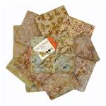 224027 Moda Over the Rainbow Batik Naturals Fat Quarter Assortment