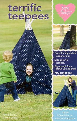 Sew Baby Terrific TeePees Pattern