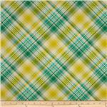 232244 Joel Dewberry Notting Hill Tartan Aquamarine