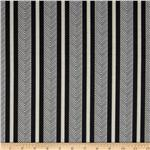 Portico Stripe Charcoal