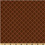 The Sweet Scoop Waffle Texture Brown