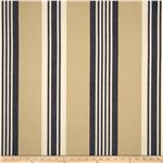 0286026 Benartex Home Athena Stripe Navy/Khaki