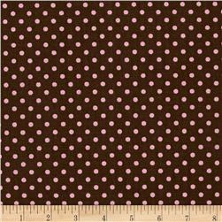 Premier Prints Dottie Brown/Pink