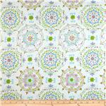 Tea Garden Sateen Home Décor Dream Right Blue
