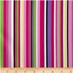 0260326 Trippy Dippie Sunrise Stripe Fuchsia