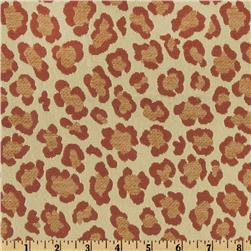 Claridge Bluma Jacquard Amaretto Chill Red