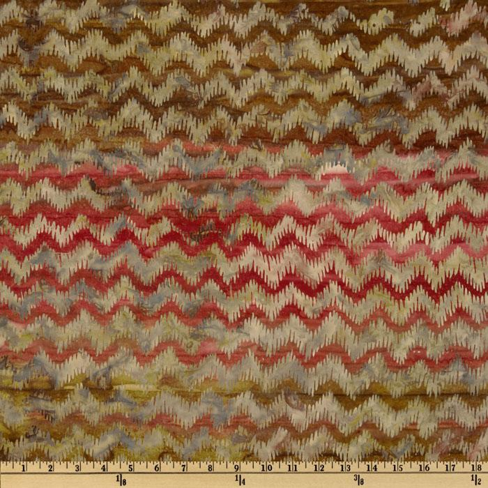 Artisan Batik: Texture Study Chevron Vintage