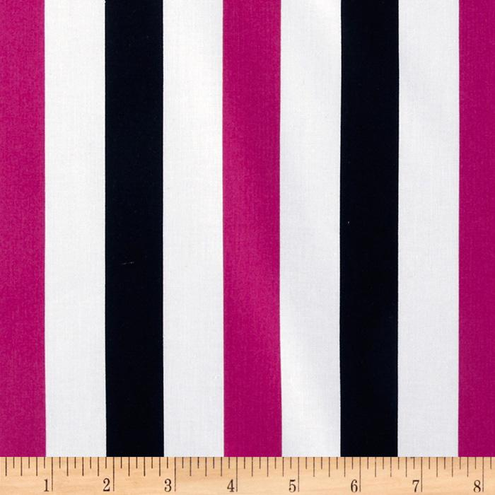 Trippy Dippie Gallery Stripe Fuchsia