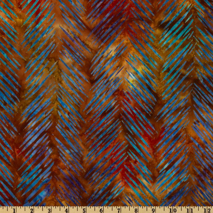 Artisan Batik: Texture Study Slash Chevron Celebration