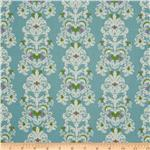 0260892 Eden&#39;s Dream Damask Teal