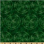 Flora Geo Texture Green